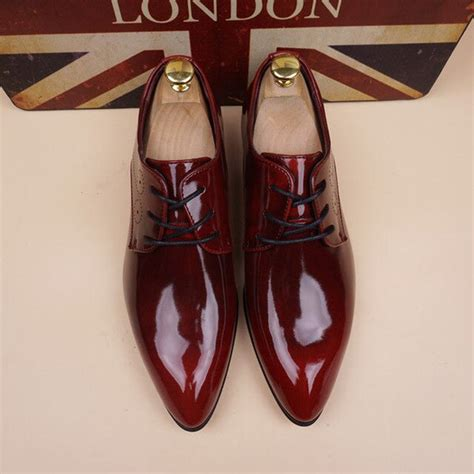 Mens Pointy Toe Dress Shoes Beso