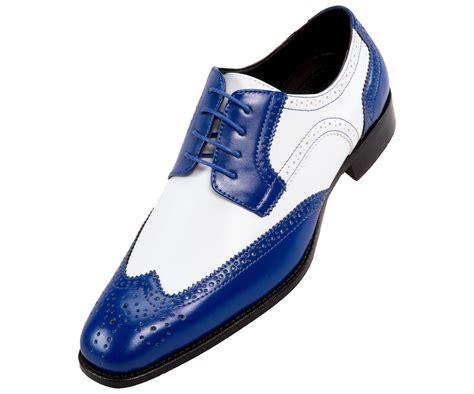 Mens Two Tone White Shoes