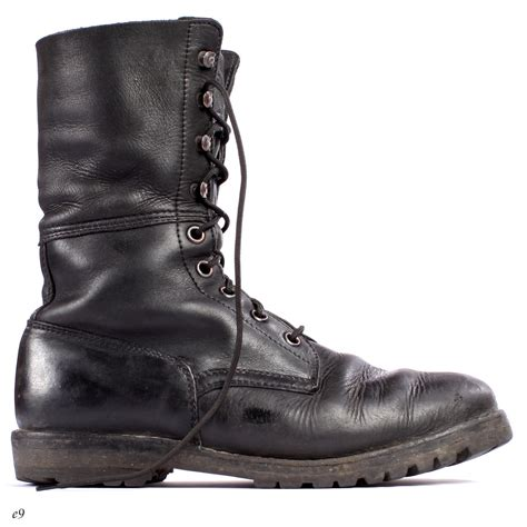 Mens military boots Etsy