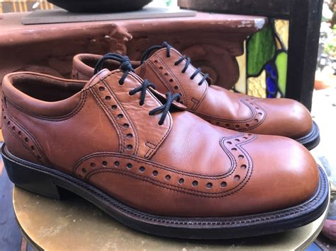 Mens wingtip boots Etsy