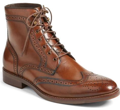 Mens wingtip boots Men s Shoes Compare Prices at Nextag