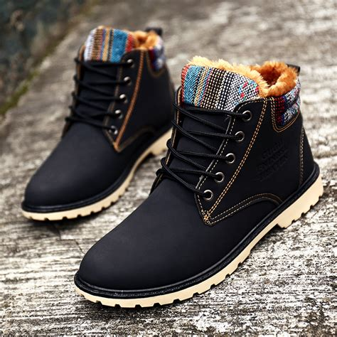 Mens winter boot fur lined Shoes Compare Prices at Nextag
