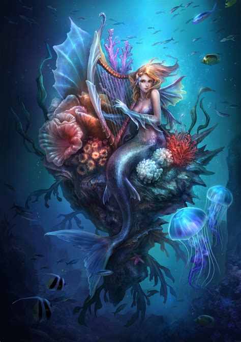 Mermaid Drawing Pictures Images Photos Photobucket