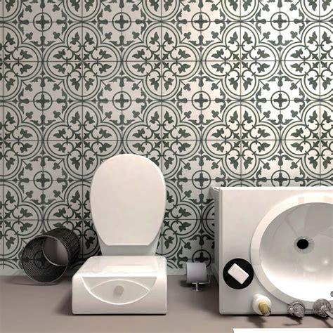 Merola Tile Arte Grey 9 3 4 in x 9 3 4 in Porcelain