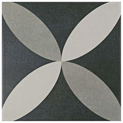 Merola Tile Twenties Petal 7 3 4 in x 7 The Home Depot