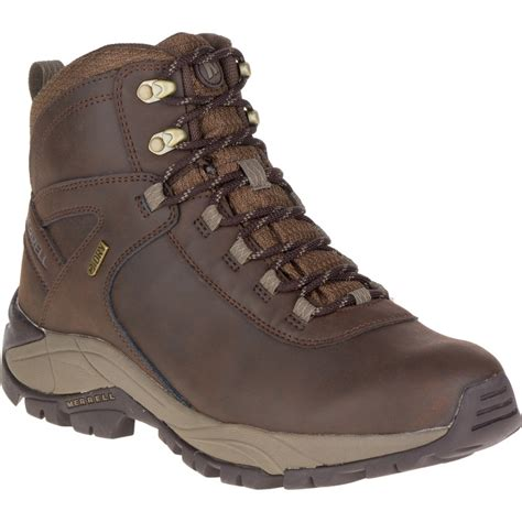 Merrell Mens Vego Mid Leather Waterproof Boot Cotswold