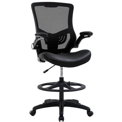 Mesh Back Ergonomic Drafting Stool for Standing Desks