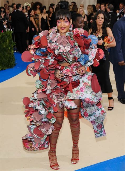 Met Gala 2017 Rihanna Wins internet with dress Time