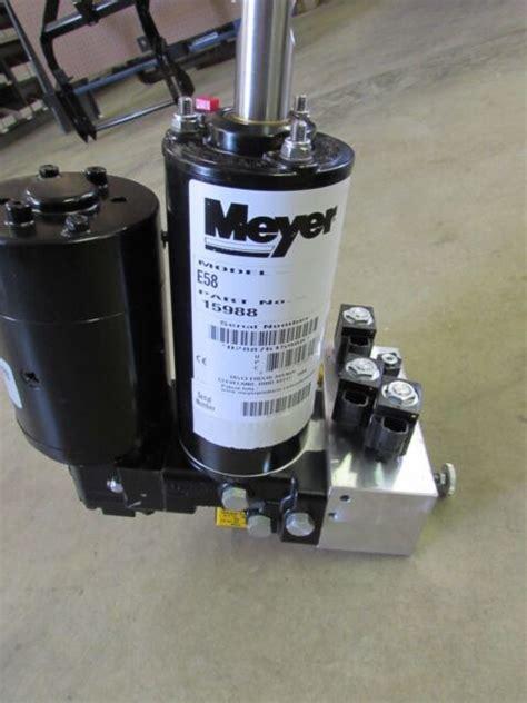 Meyer Snow Plow E58 Pump Parts