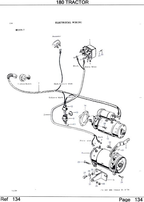 mf 240 wiring diagram images description massey ferguson 65 mf 240 tractor wiring diagram tractor parts repair and