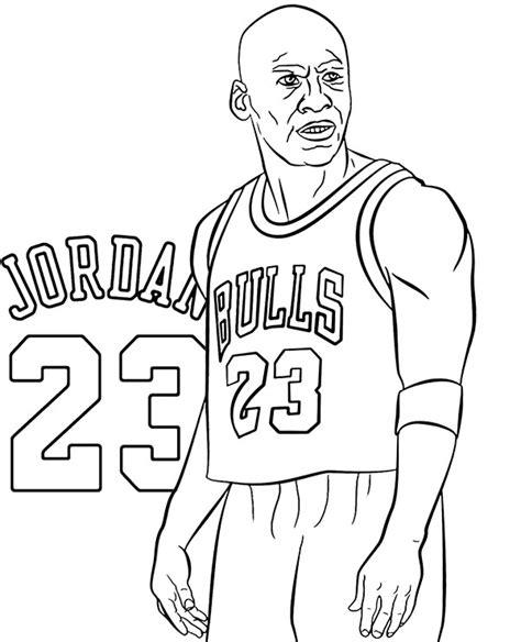 Michael Jordan coloring page Free Printable Coloring Pages