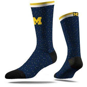 Michigan Wolverines Shoes Michigan Socks Footwear