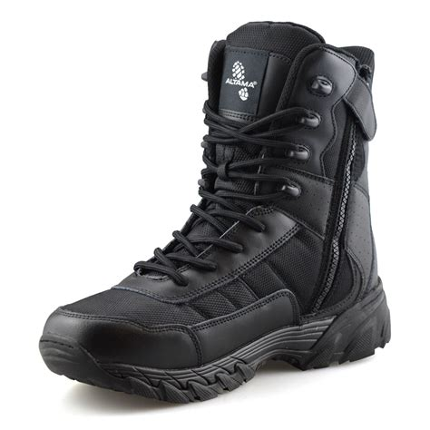 Military Boots Working Person