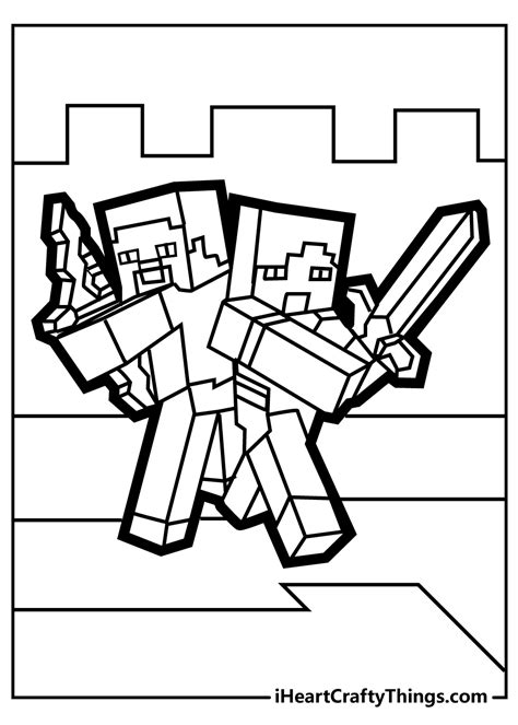 Minecraft Coloring Pages Printable Coloring Pages