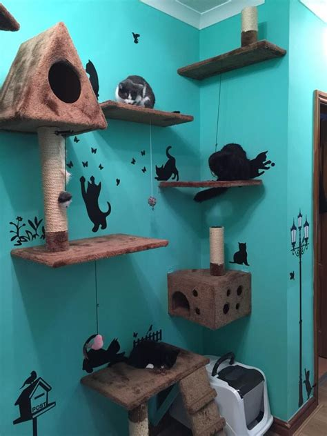 Mini Amazing Cat Tree Cat Furniture Gyms Toys Beds
