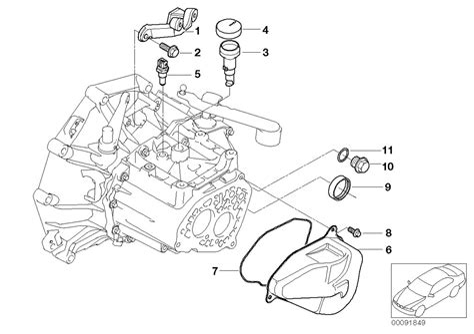 Mini Cooper Transmission Diagrams