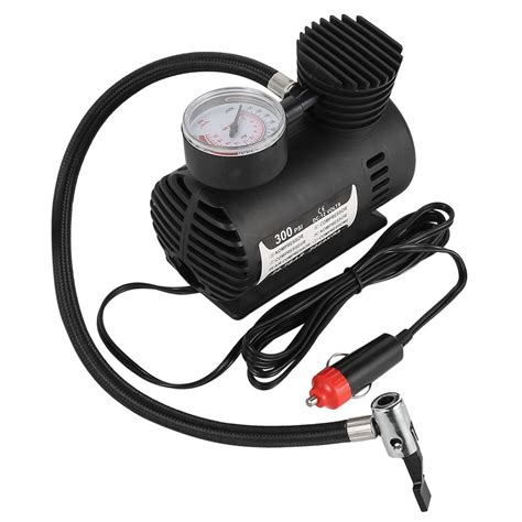 Mini Portable Electric Air Compressor Pump Car Tire Inflator