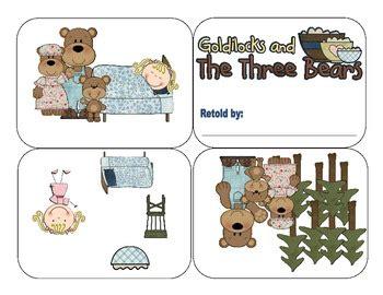 Minibook Goldilocks and the Three Bears A Retelling