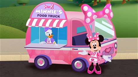 Minnie s Food Truck starring Minnie Mouse Daisy Duck