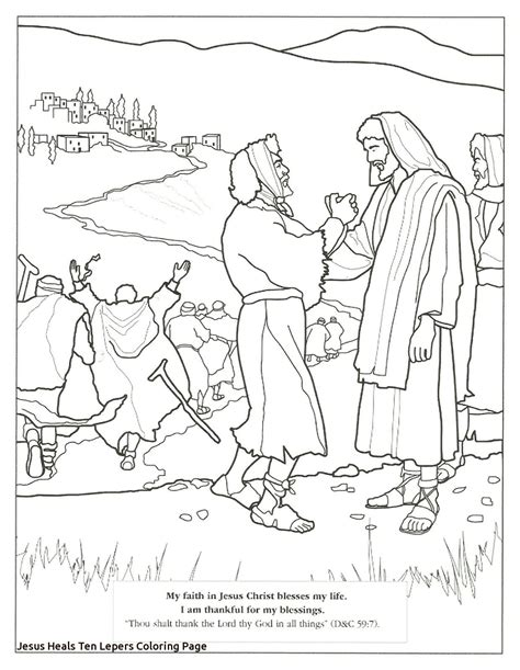 Miracles of Jesus Coloring Pages theclipartwizard