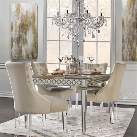 Mirrored Dining Table Sophie Collection Z Gallerie