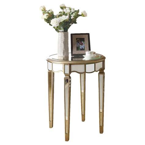 Mirrored End Tables You ll Love Wayfair