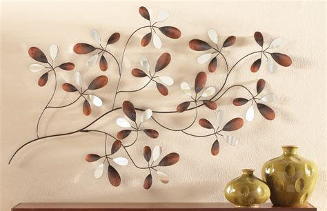 Mirrored Floral Petals Wall Decor from Collections Etc