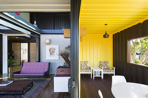 Modern Colorful and Creative Shipping Container Home in