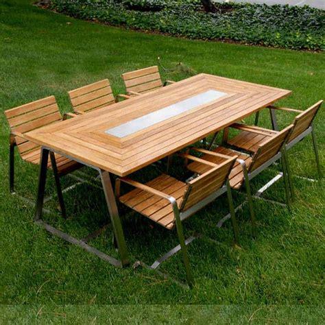 Modern Contemporary Outdoor Teak Dining Table AllModern