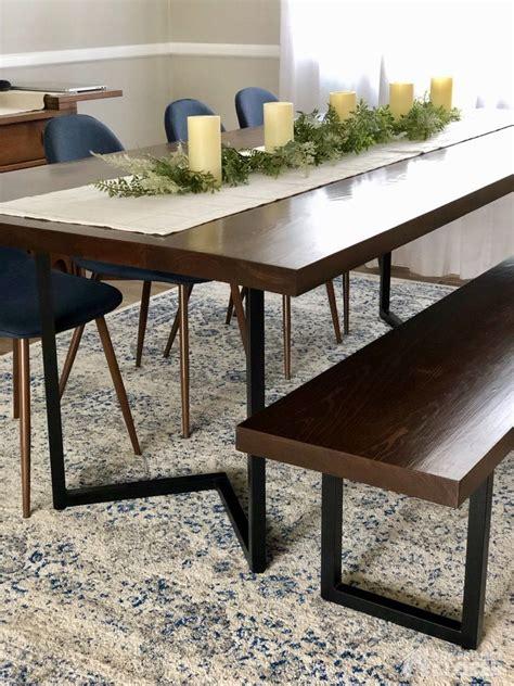 Modern Dining Table Plans easyshedplansdiy