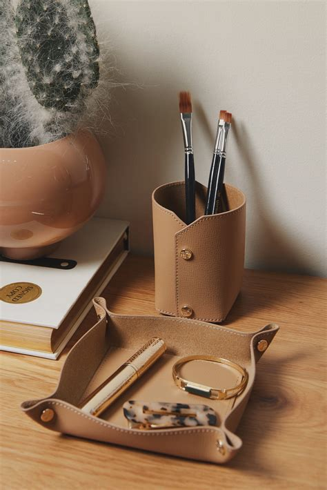 Modern Leather Desk Accessories Office Accessories