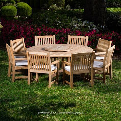 Modern Outdoor Teak Dining Table Sets Westminster Teak