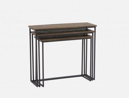 Modern coffee end and console accent tables Structube
