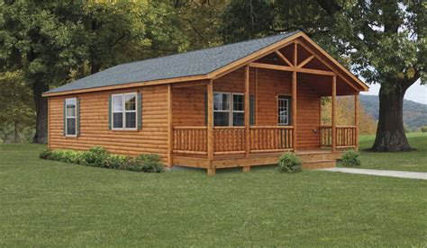 Modular Log Homes Tiny Cabins Manufactured In PA