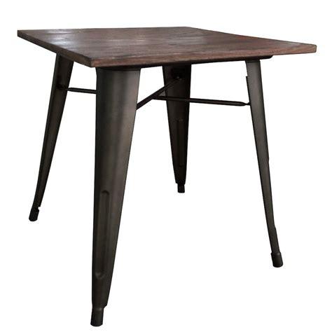 Modus Dining Table Gunmetal Home Depot