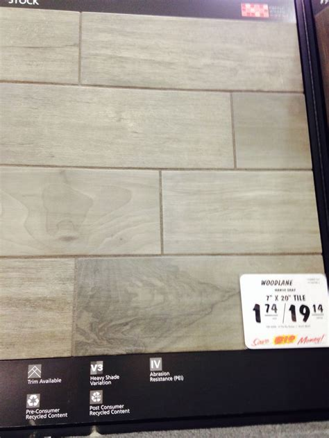 Mohawk Woodlane 7 x 20 Ceramic Floor and Wall Tile at