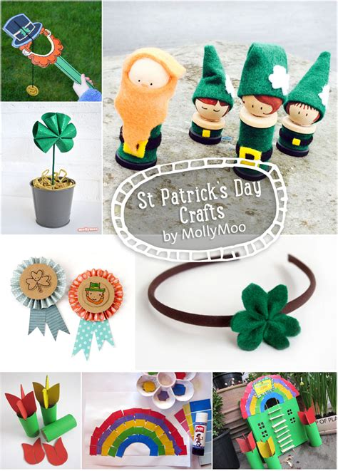 MollyMooCrafts 77 St Patrick s Day Crafts Ideas to