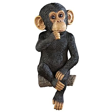 Monkey on a Tree Branch Yard Decoration Collections Etc