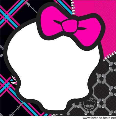 Monster High Skull Free Printable Kit Is it for