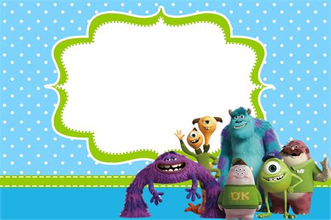Monster University Free Printable Party Invitations Is