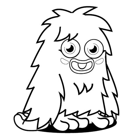 Monsters Online Coloring Pages Page 1