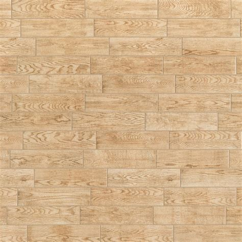 Montagna Natural 6 in x 24 in Glazed Porcelain Floor and