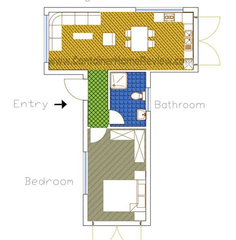 More Free Shipping Container Home Floor Plans Container