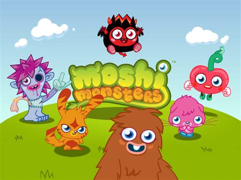 Moshi Monsters Games Play Online for Free at Little
