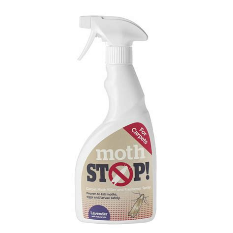 Moth Stop Carpet and Fabric Spray 500ml Lakeland