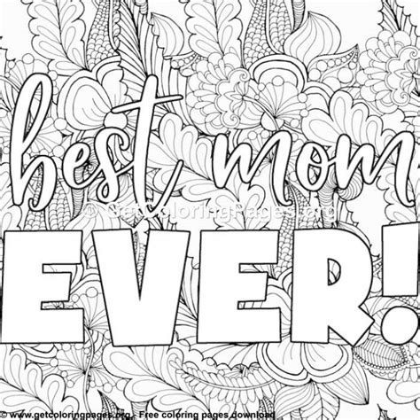 Mother Coloring Page GetColoringPages