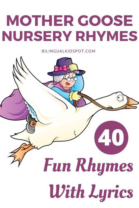 Mother Goose Nursery Rhymes Free Nursery Rhymes Lyrics