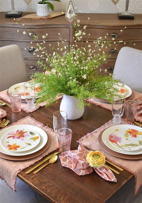 Mother s Day Table Settings Tablescapes