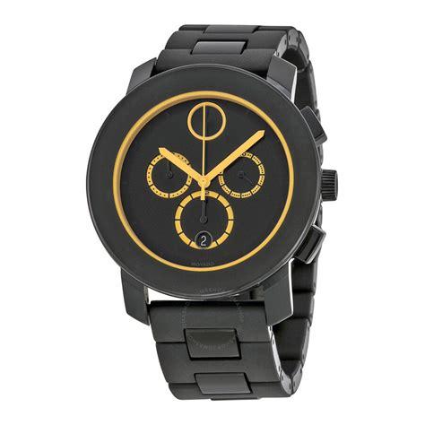 Movado Bold Chronograph Black Dial Black TR90 Men s Watch