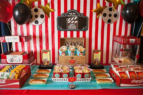 Movie Theater Party Kids Party Planning Ideas from